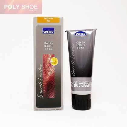 WOLY FASHION LEATHER CREAM 006 LIGHT BROWN 75ML